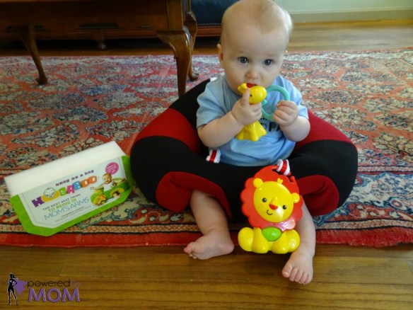 Hugaboo Baby Seat with Baby Playing