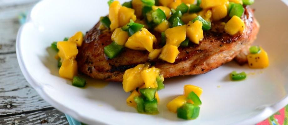 Chicken With Mango Salsa Recipe