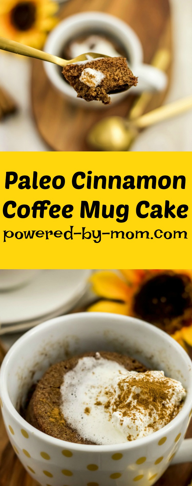 Paleo Cinnamon Coffee Mug Cake