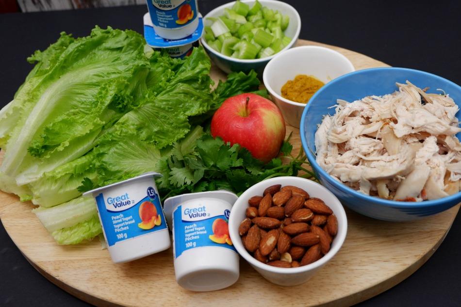Curry Chicken Salad Ingredients