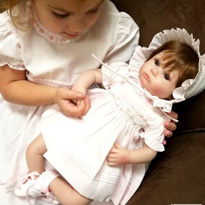 Realistic Baby Dolls Increase Child's Nurturing Ability