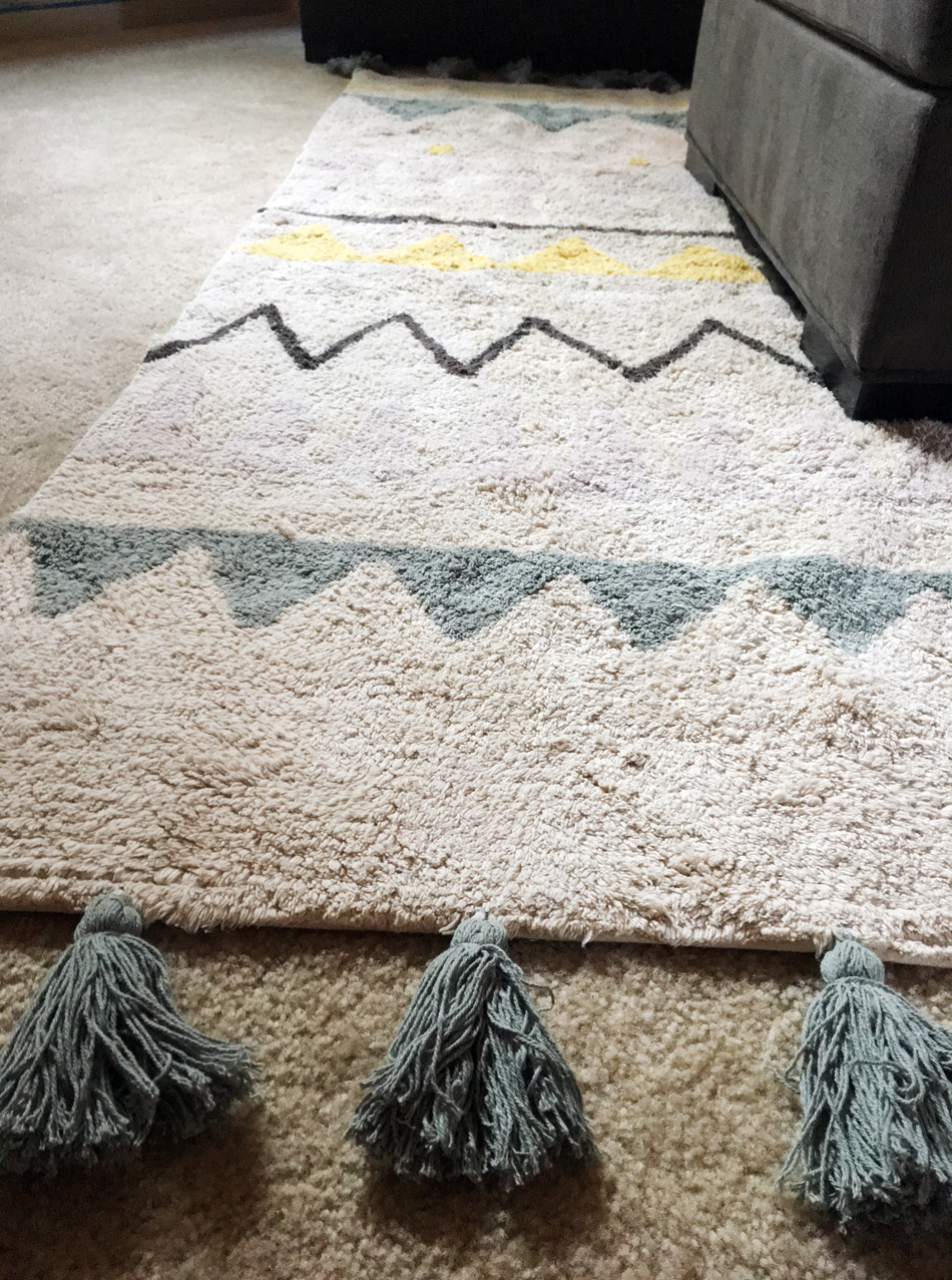 Machine-Washable Rug
