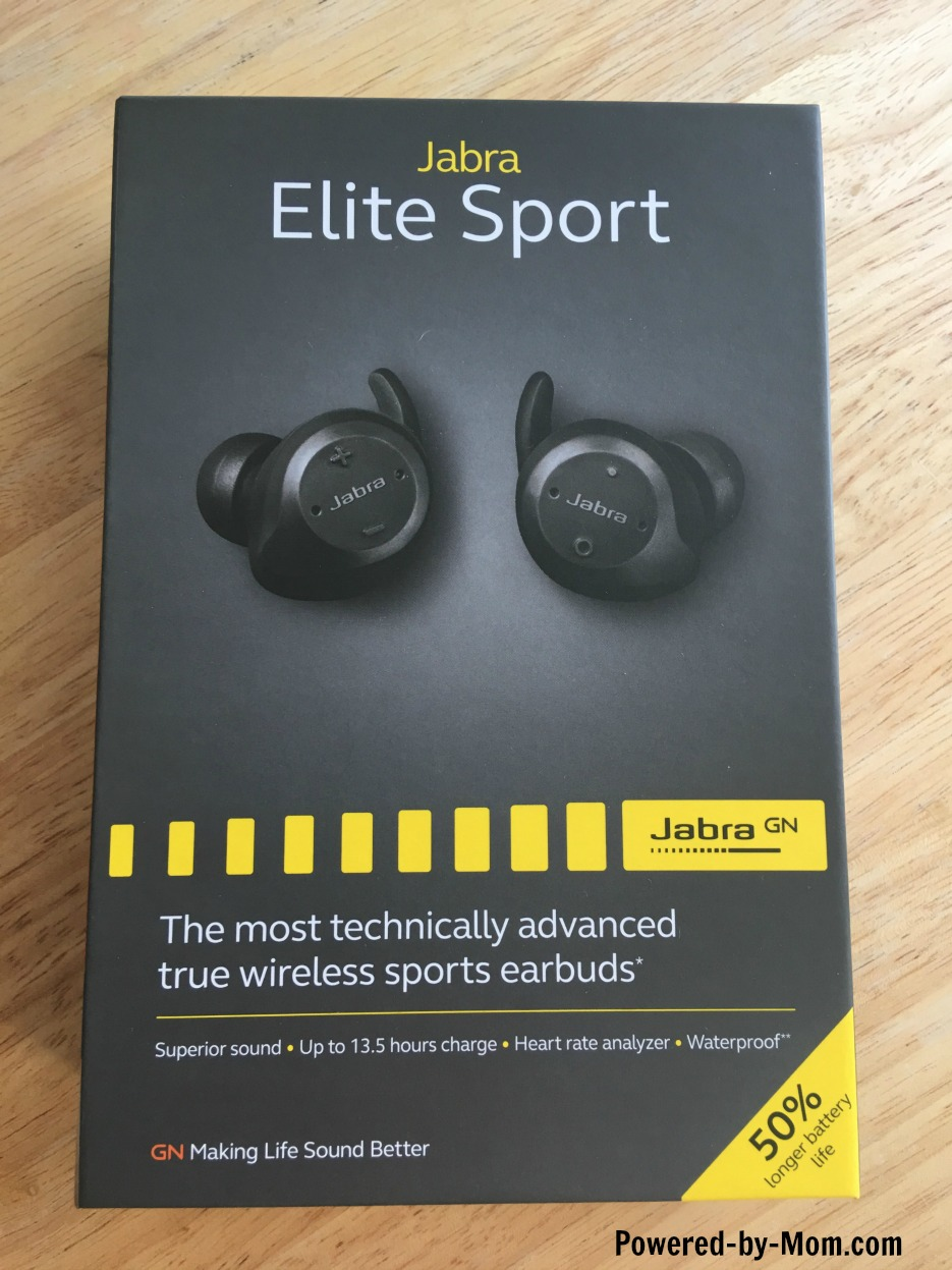 Jabra Elite Sport Bluetooth Earbuds Review - Powered by Mom