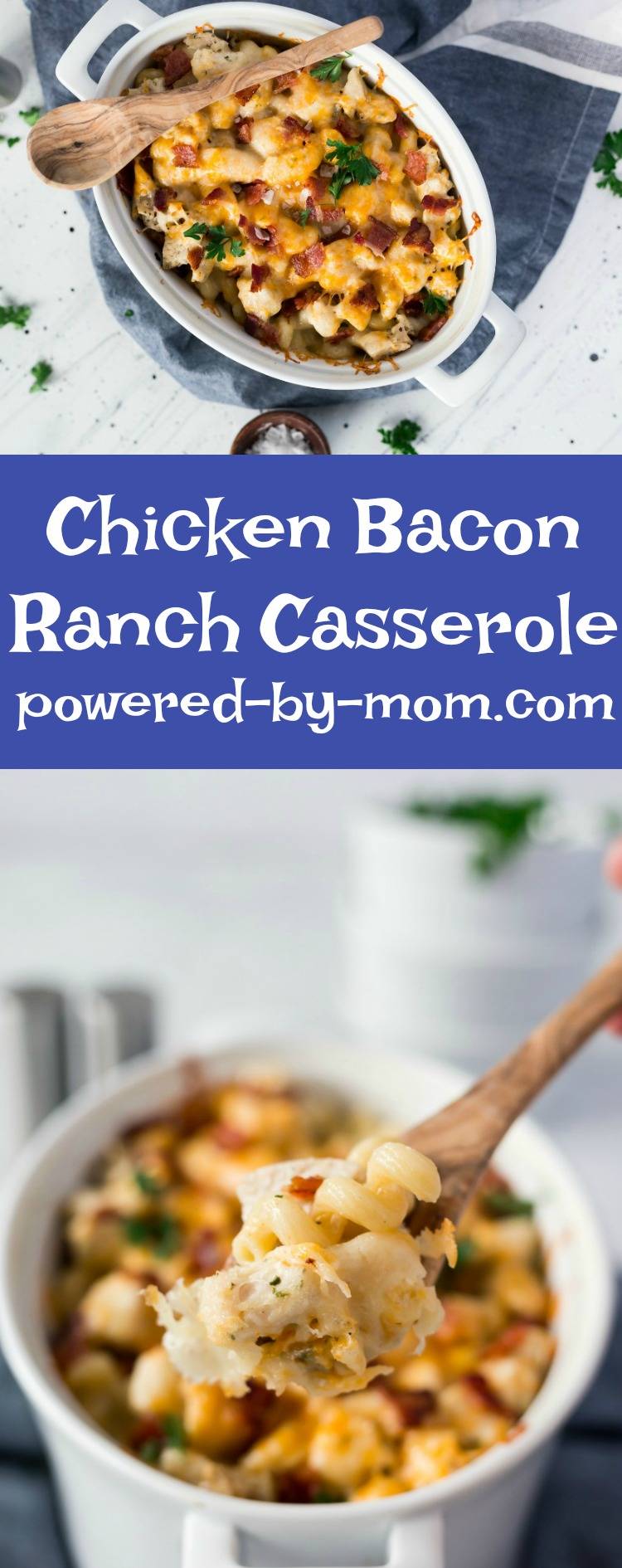 Chicken Bacon Ranch Casserole Recipe