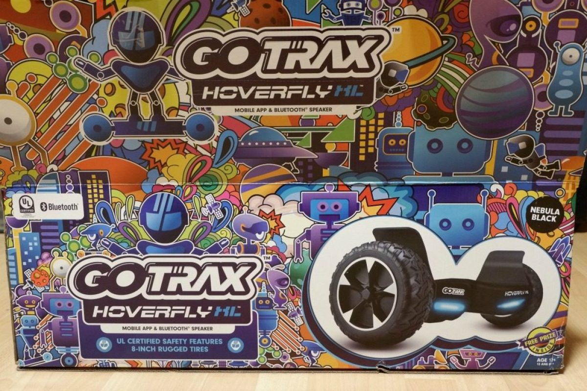 GO TRAX hoverboard box