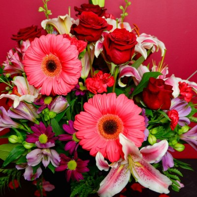 Celebrate with Beautiful Valentine's Flowers from Teleflora