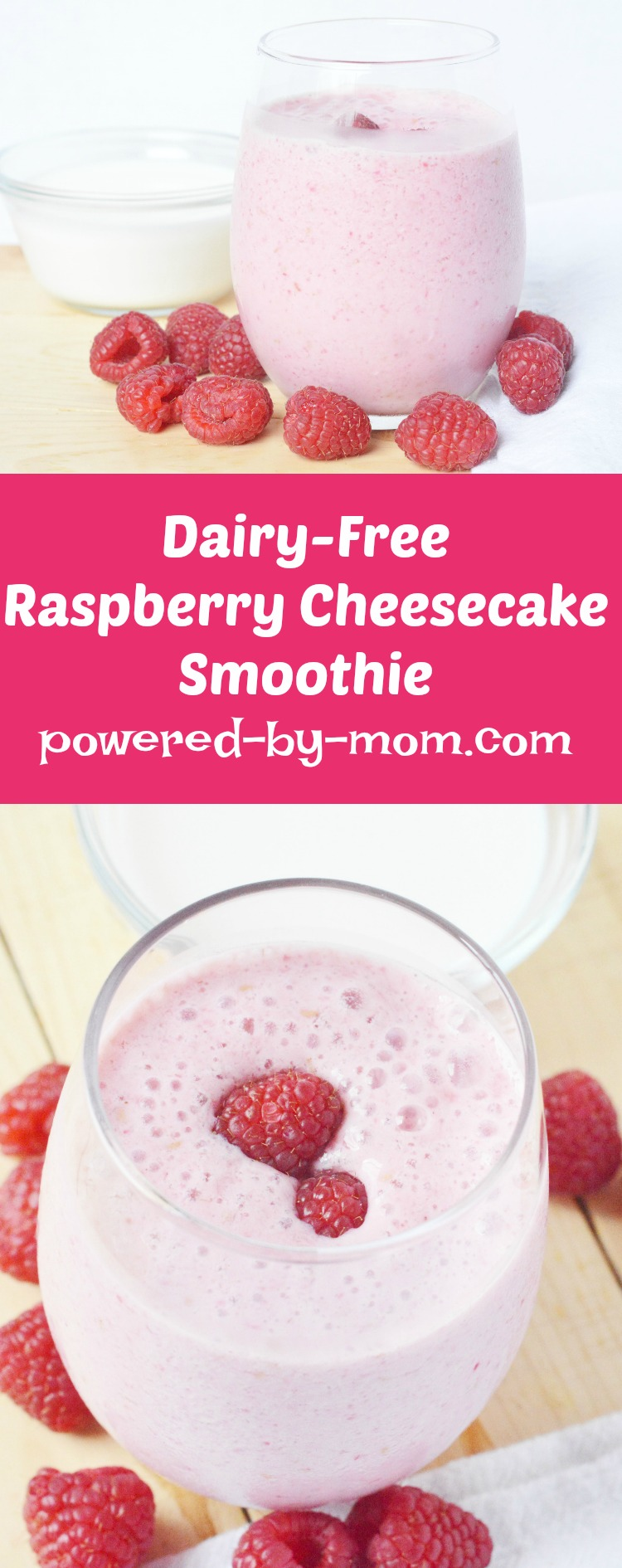 Healthy Smoothies Dairy Free Raspberry Cheesecake Smoothie