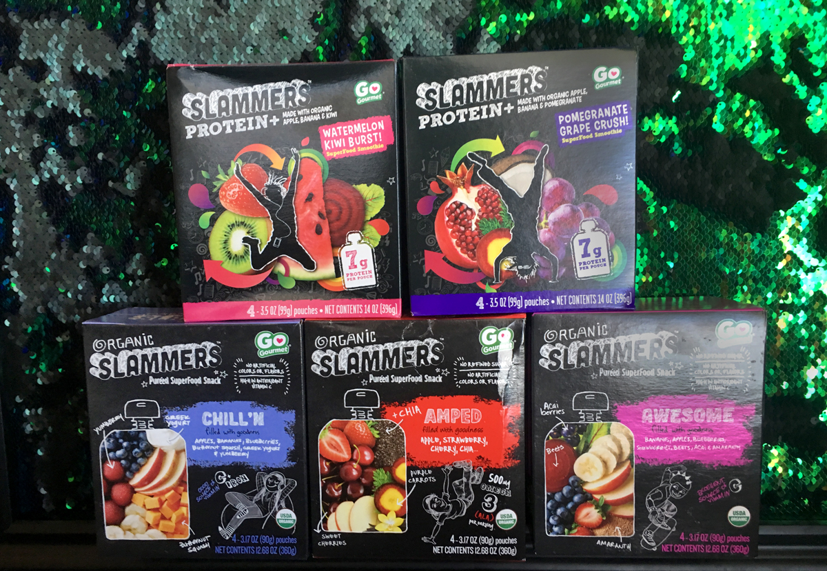 Slammers Organic Snacks
