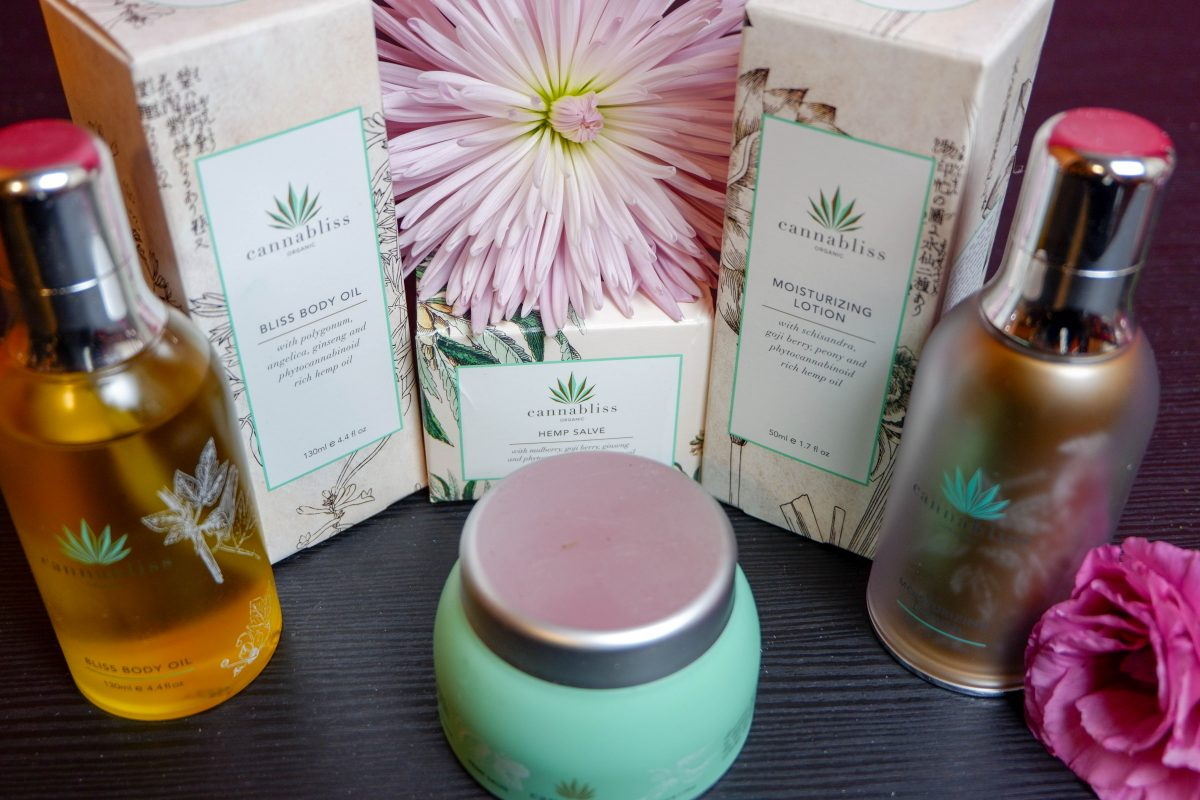 Cannabliss organic skin care made from quality full spectrum hemp oil