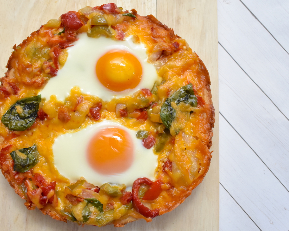 egg pizza