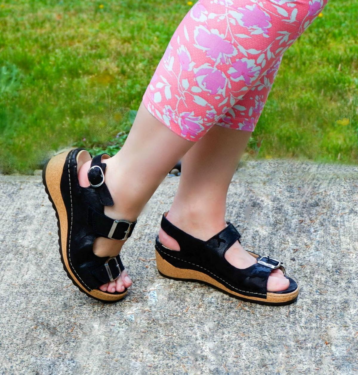 little black sandal