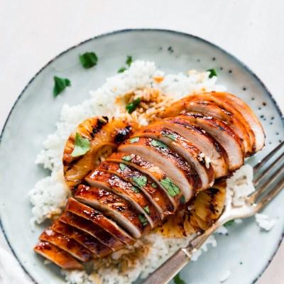 Grilled Hawaiian BBQ Chicken Recipe