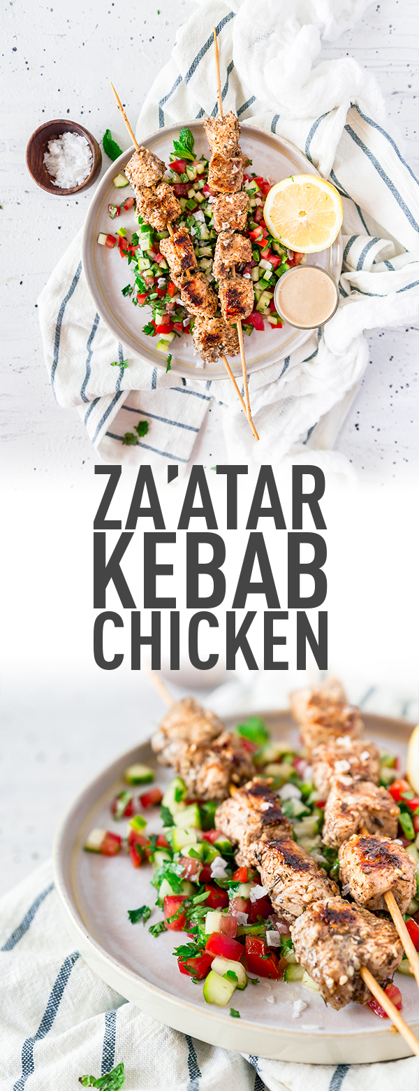 chicken kebabs with za'atar recipe - middle east spices Za'atar Recipe