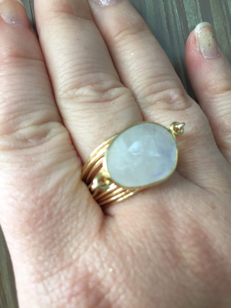 torrey ring in moonstone