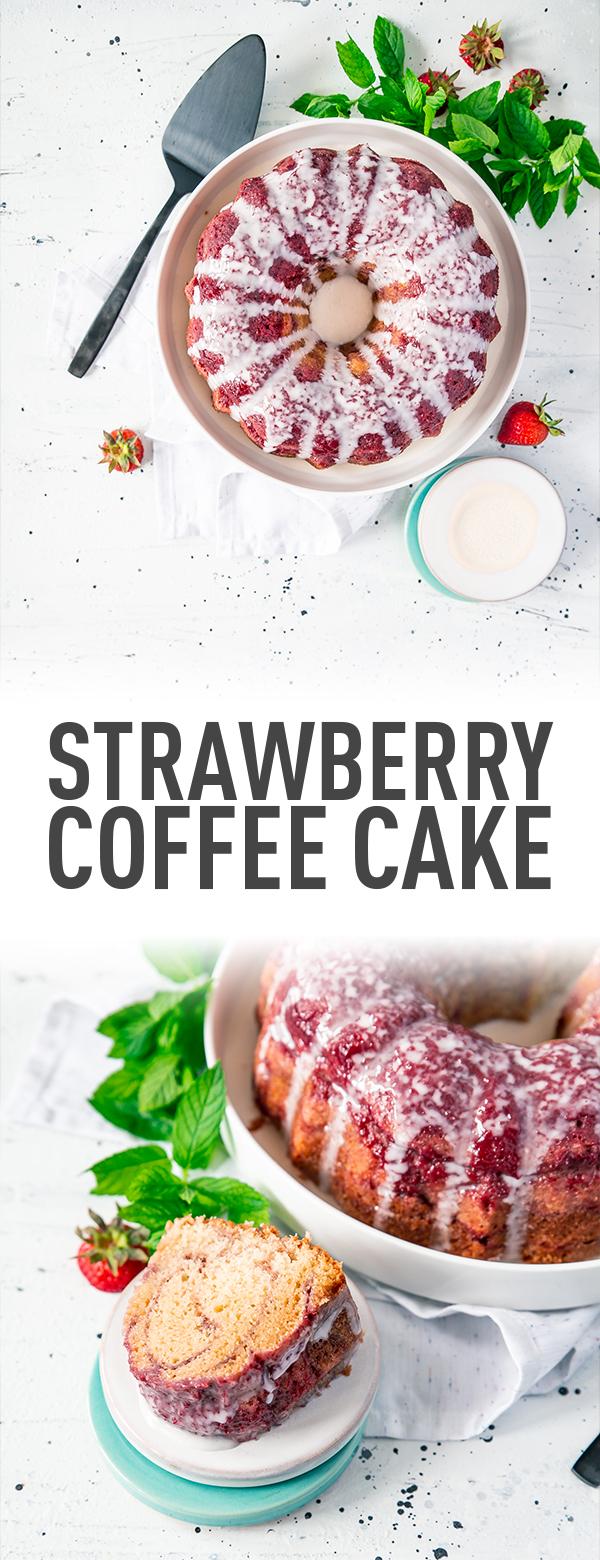 Strawberry Coffee Cake Recipe