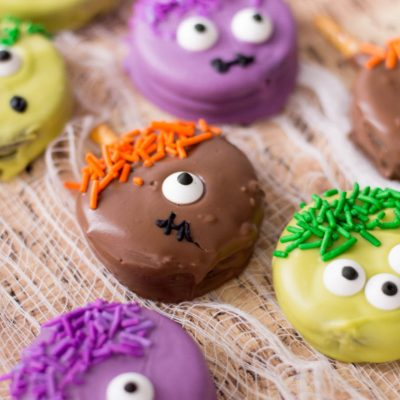 Monster Cookies Recipe: Easy Halloween Treats!