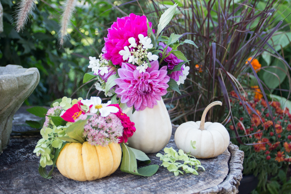 Pumpkin Crafts: DIY Flower Vase