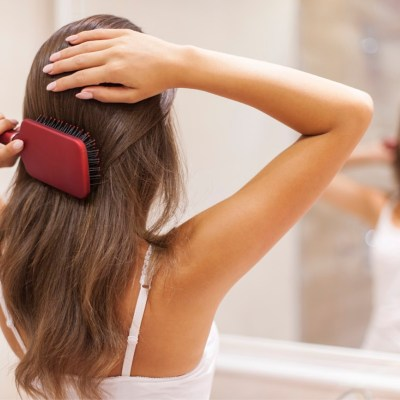 Healthy hair and skin with natural products