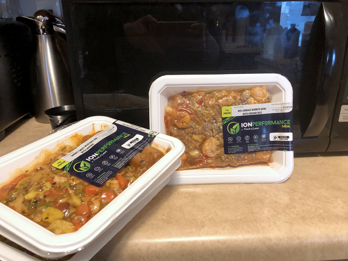 Pre-Portioned Meals