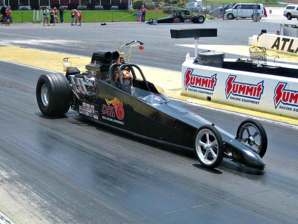 drag car racing experience