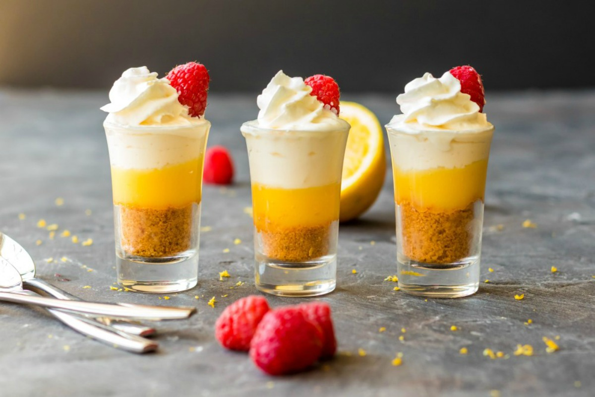 Mini No Bake Lemon Cheesecake Recipe