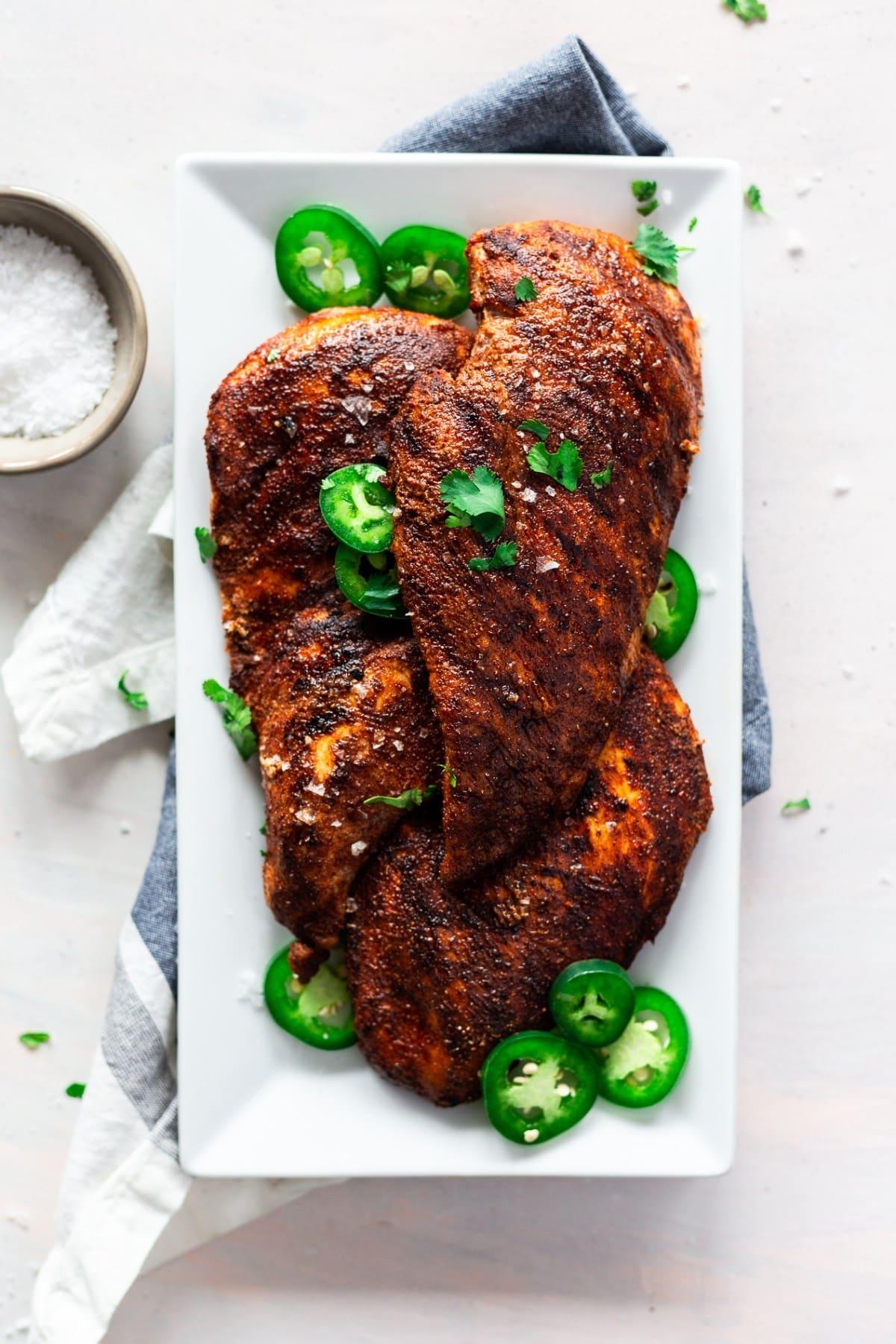 Grilled Harissa Chicken Breast Recipe
