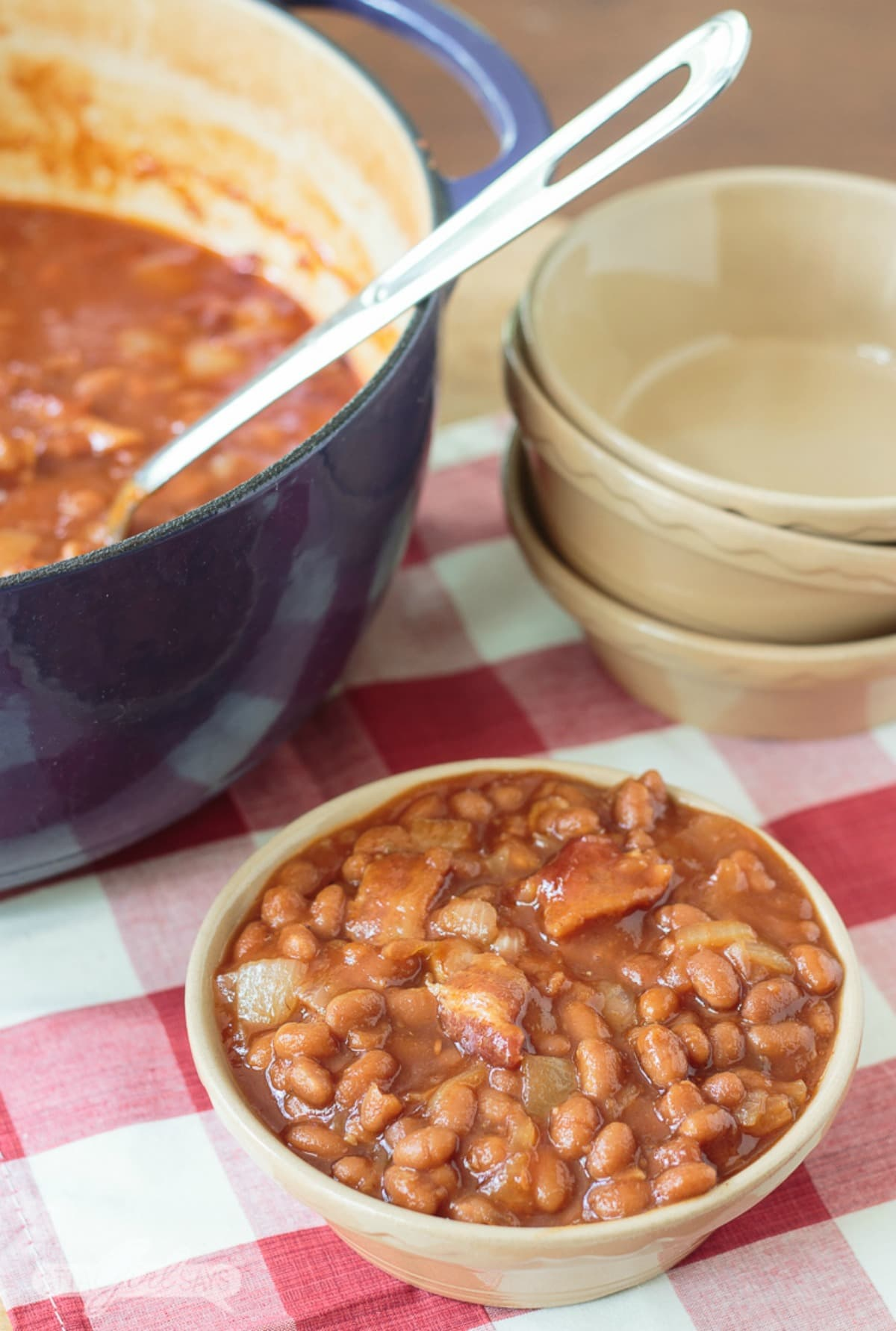 Southern Baked Beans Recipe with Bacon