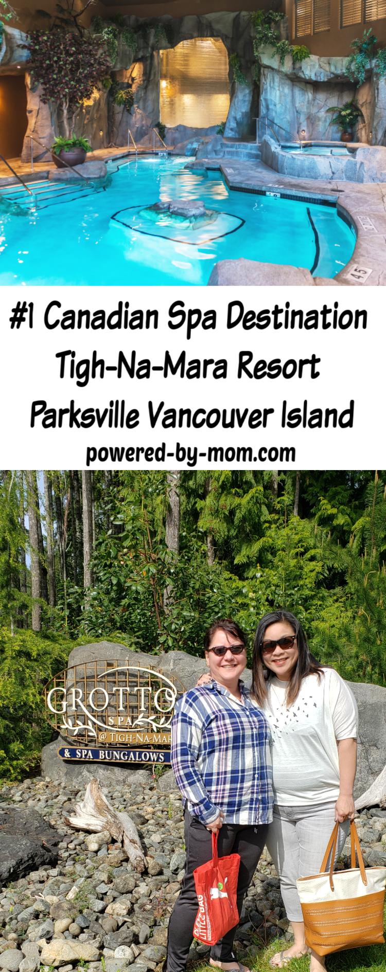 Vancouver Island Spa - Tigh-Na-Mara Parksville