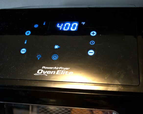 Power Air Fryer Oven Elite Healthy Crispy Food