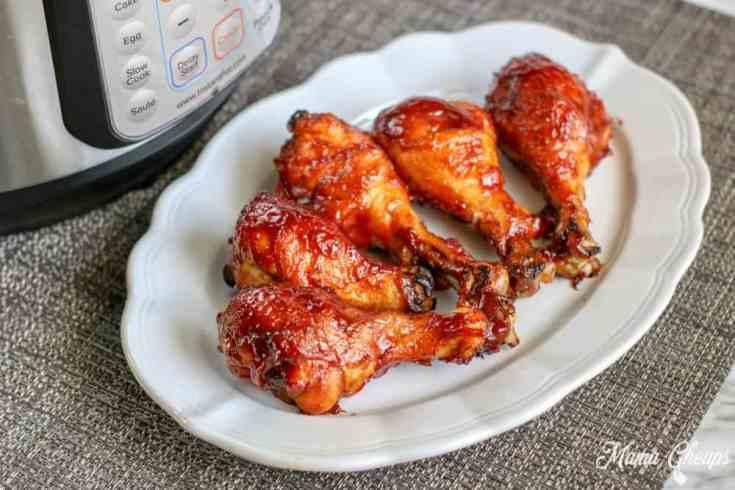 Easy Instant Pot BBQ Chicken Legs