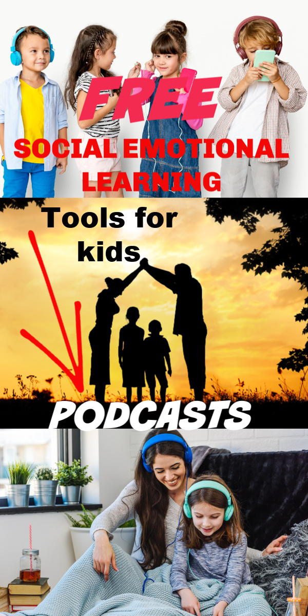 Help your child understand with these best Social Emotional Learning (SEL) Tools from the Imagination Neighborhood podcasts for children! These fun podcasts help to develop social-emotional learning like teaching how kindness is contagious. It's a great resource for helping you navigate some teaching moments with your child.