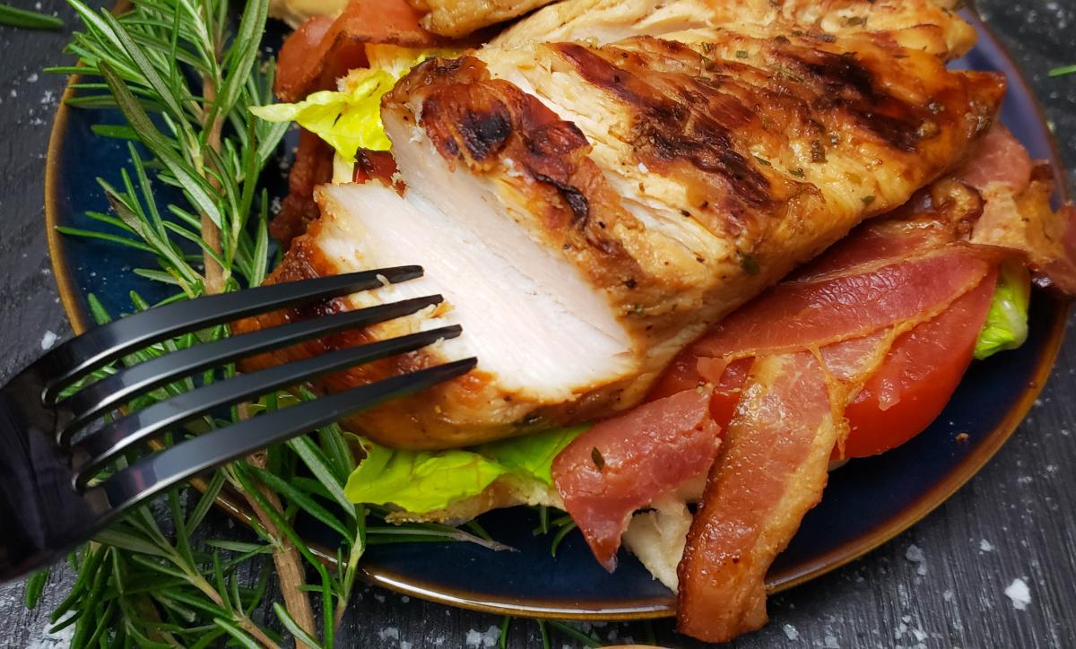 cut chicken breast