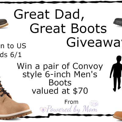 great boots great dad giveaway