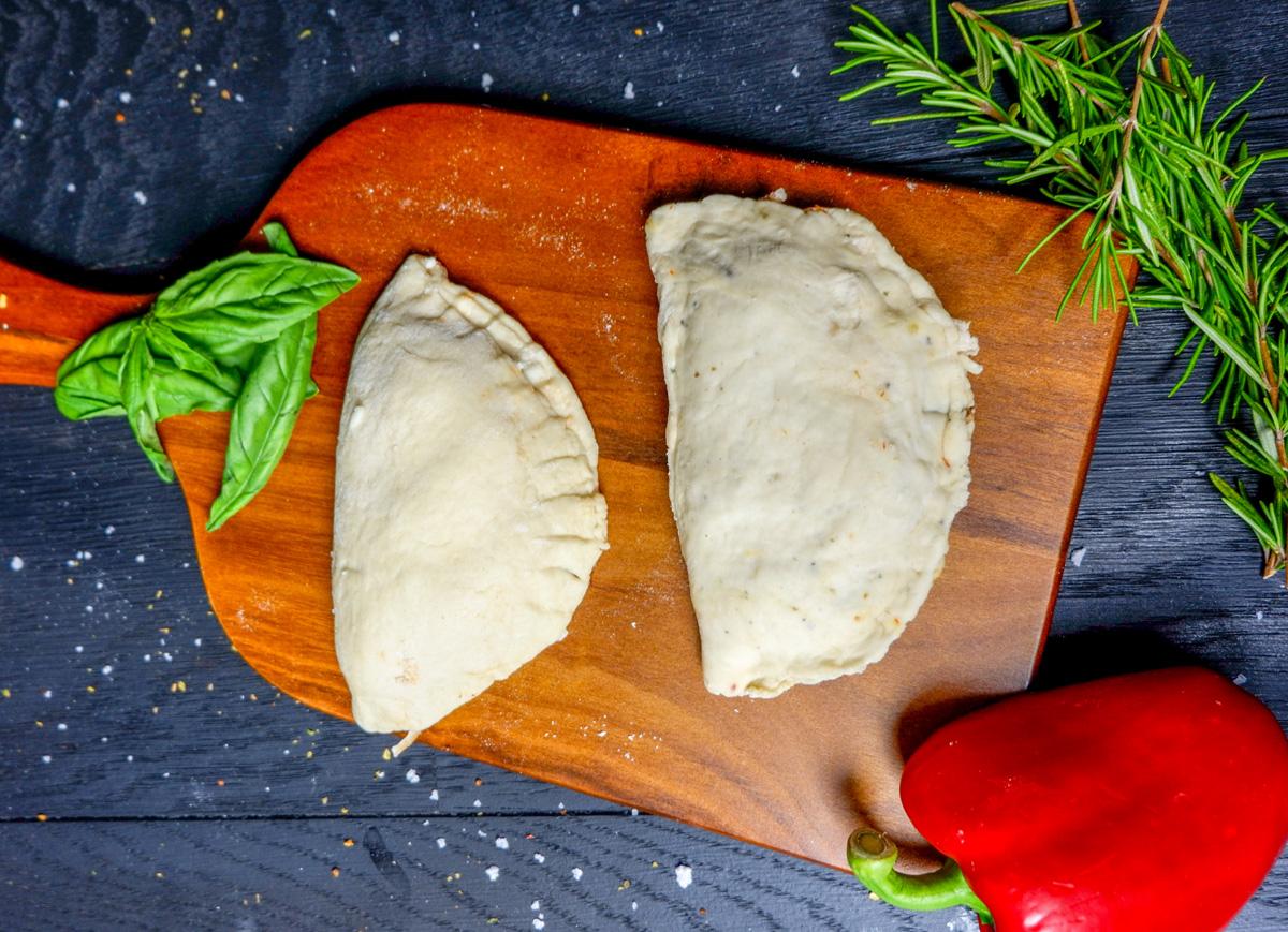 chicken calzone dough