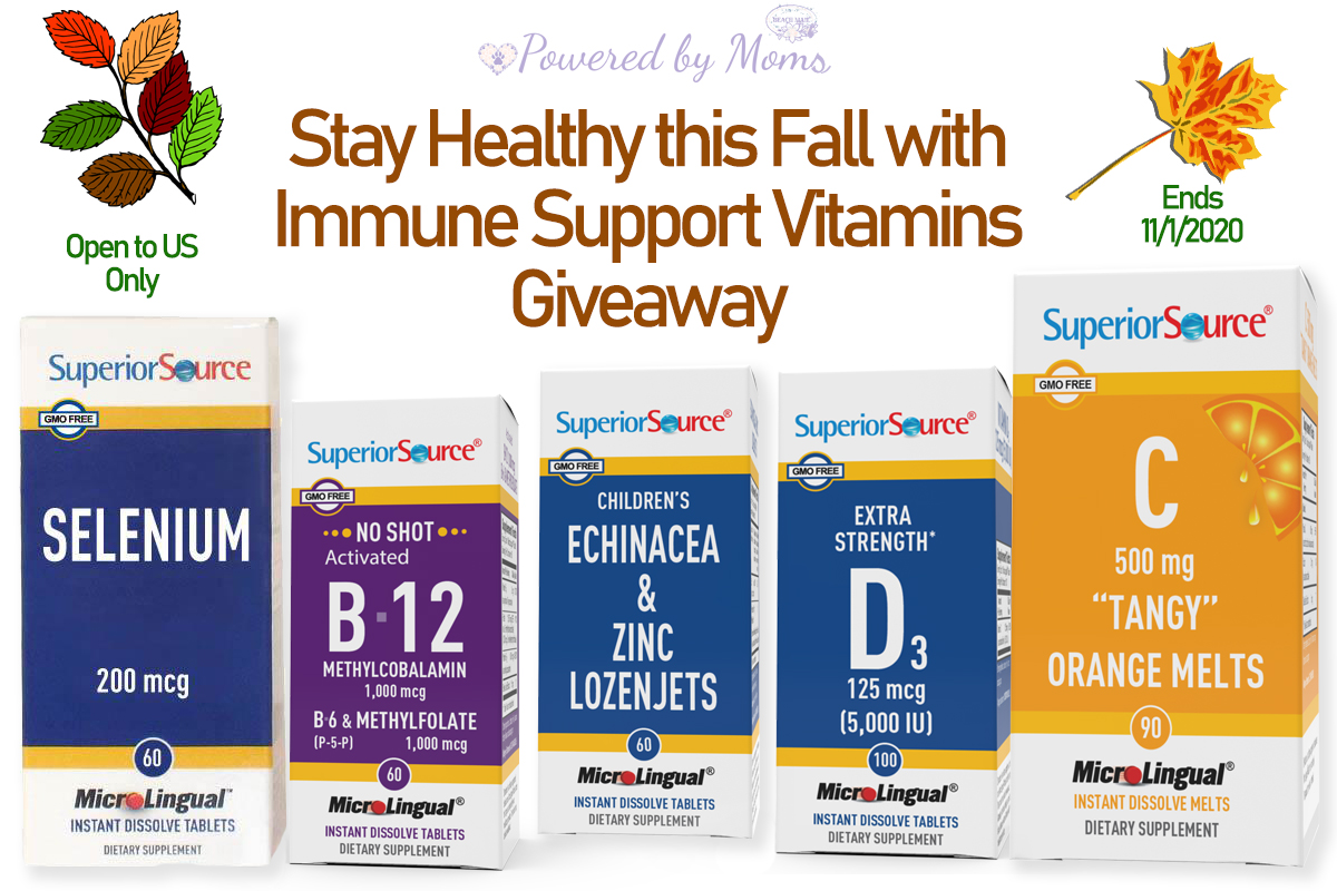 Stay Healthy this Fall with Immune Support Vitamins