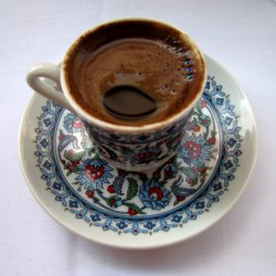 My First Turkish Coffee in Istanbul