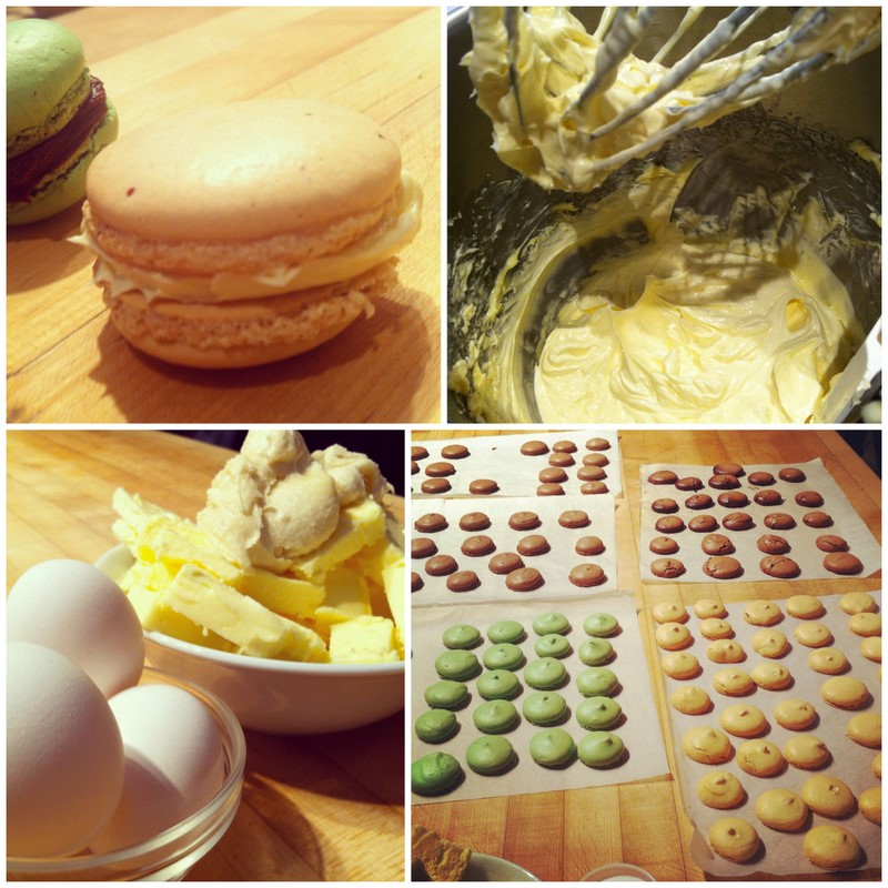 making macarons cooking class