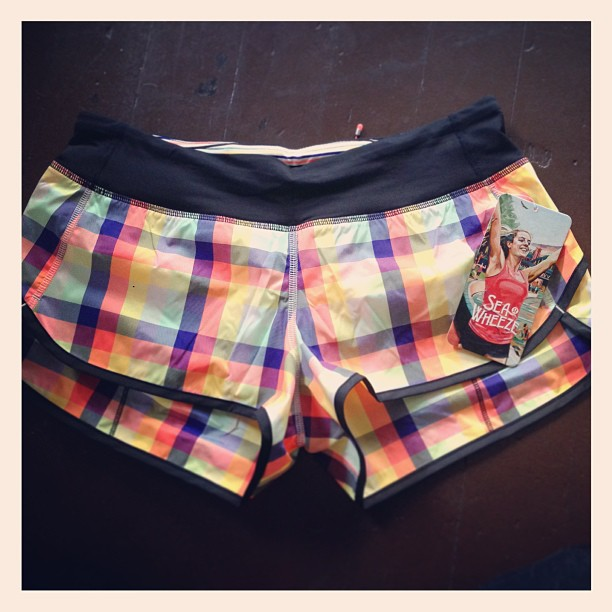 2013 Lululemon SeaWheeze Shorts