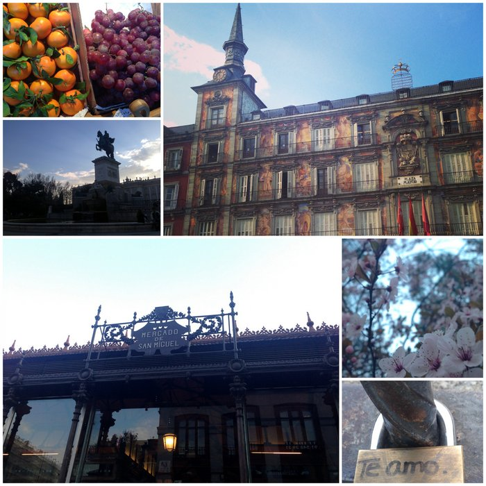 Madrid-San Miguel market and wandering