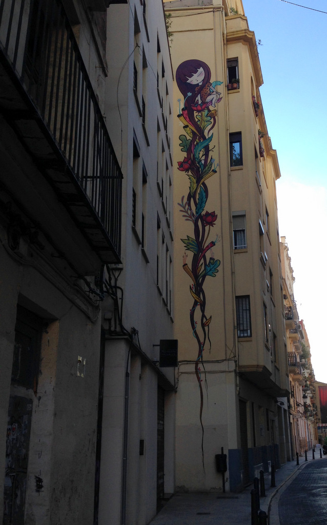 Fairy tale graffiti