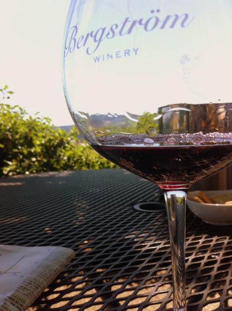 Berstrom winery glass