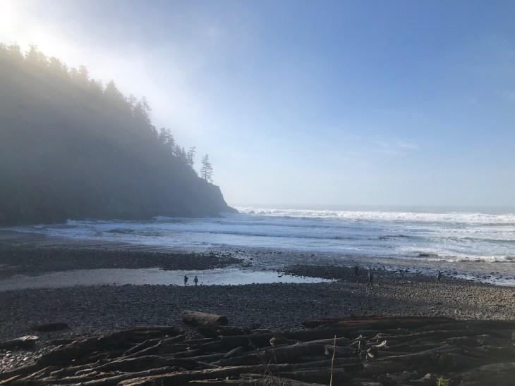 Oswald West Oregon coast winter