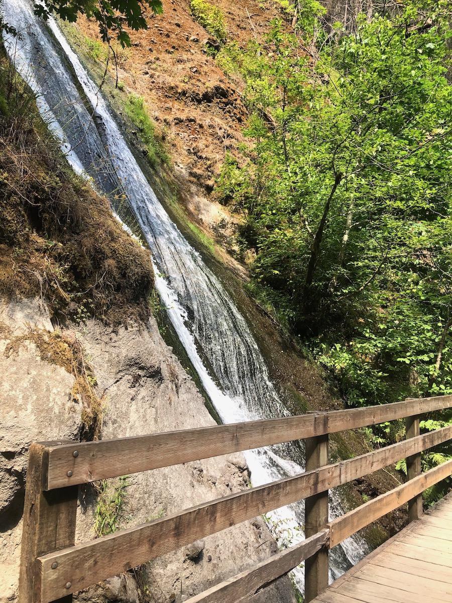 Munra Falls on Wahclella Falls Trail
