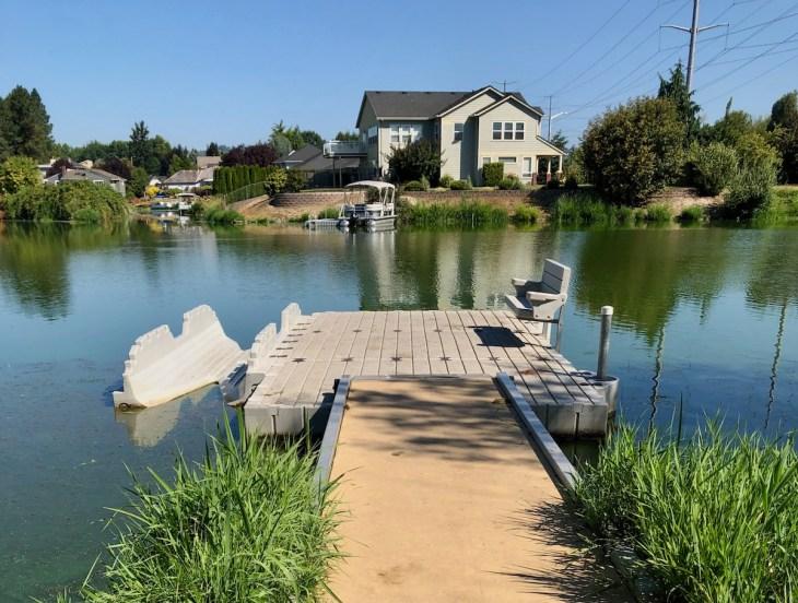 fairview lake kayak dock