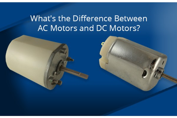 What's the difference between AC motors and DC motors?