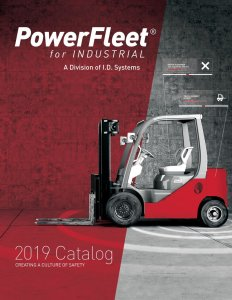 PowerFleet for Industrial 2019 Catalog Cover