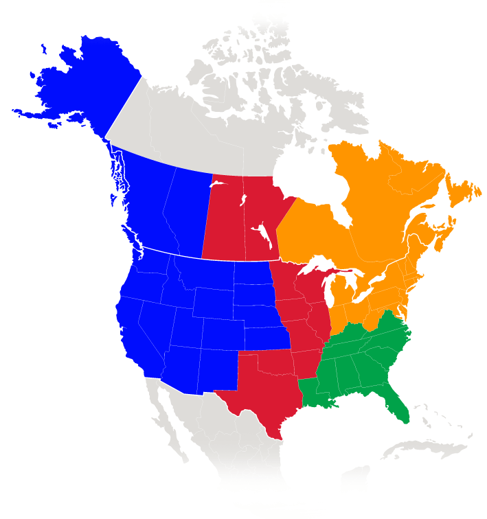 Sales Channel Territories for PowerFleet for Logistics