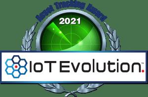 IoT Asset Trackign award 2021