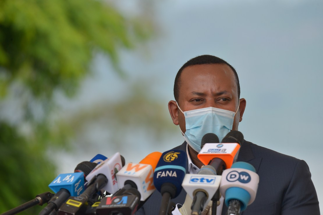 Ahmed, 44, gave no indication of the nature of response but observers have for weeks been warning that a standoff between the government and the TPLF could spill over into violence [File: Michael Tewelde/AFP]