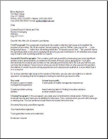 Sample Professional Cover Letter Example 9 Free Documents In Pdf